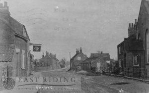 Village street, Beeford 1920