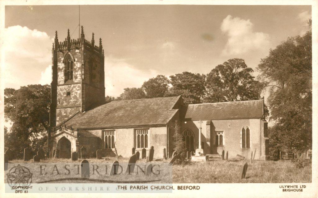 St Leonard's Church, Beeford 1957