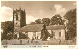St Leonard's Church, Beeford 1957