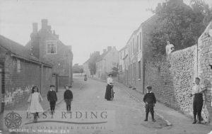 Galegate, North Newbald 1900