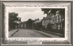 Langton Road from south, Norton 1920