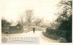 Bridge and the Green from east, Nunburnholme 1900
