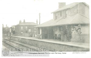 Railway Station and Railway Hotel, Ottringham c.1900s