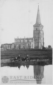 St Wilfrid's Church, Ottringham 1900
