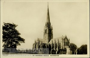 St Patrick's Church from south east, Patrington 1900