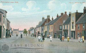 Market Place, Patrington 1900