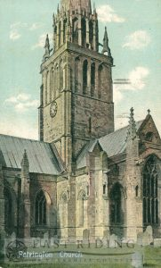 St Patrick's Church from north east, Patrington 1932