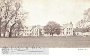 Pocklington School from north east, Pocklington 1910