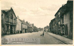 Chapmangate from south west, Pocklington 1900
