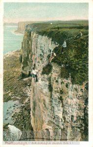 Cliff-climbing, Bempton 1900