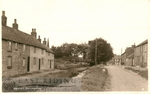 High Street from south east, Rillington  1930