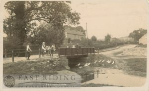 little bridge, Settrington  1904