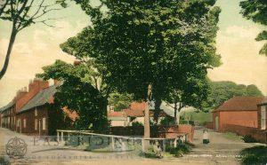 village street, Sewerby 1910