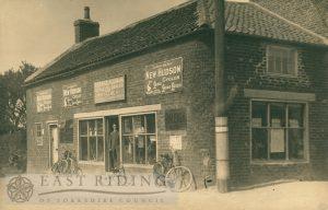 business premises/shop, details not known, Skipsea 1900