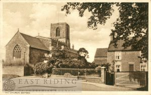 All Saints Church from north east, Skipsea 1935