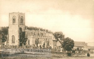All Saints Church from south west, Skipsea 1920