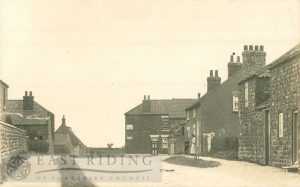village street, Skipsea 1900