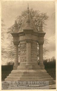 Wagoner's Memorial, Sledmere  c.1900s
