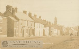 Market Place from north west, South Cave  1907