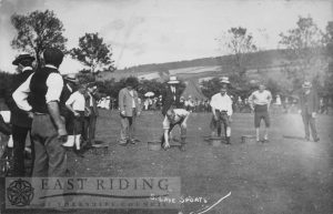 sports, South Cave  1911