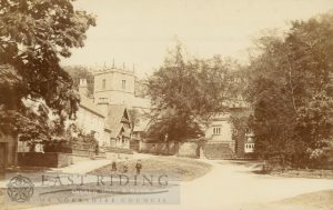 Church Hill from south west, South Cave  1900