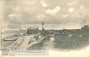 Spurn Head and Lighthouse, Spurn  1904