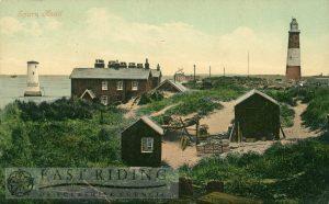 Spurn Head and Lighthouse, Spurn  1907