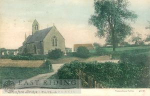 St John Baptist Church from south east, Stamford Bridge  1905