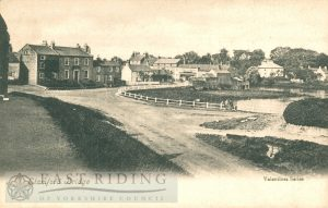 village centre from south east, Stamford Bridge  1900
