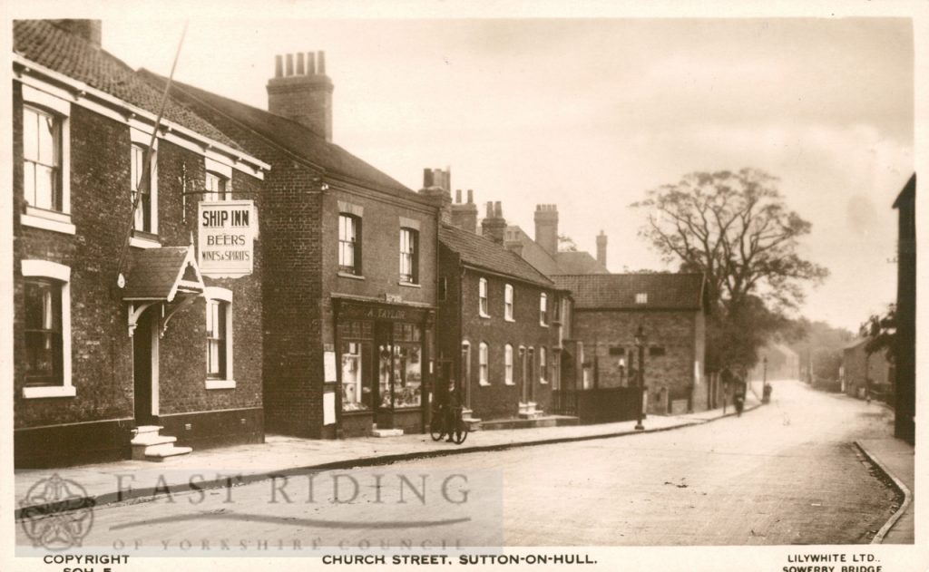 Church Street from east, Sutton 1933