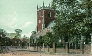 St James Church from south east, Sutton 1908