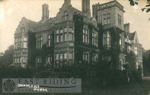 Swanland Manor, Swanland 1913