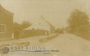 street scene, Thwing  1900