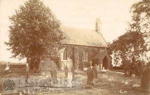 St Paul's Church from north east, Tickton 1900
