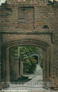 The Friary gateway, Beverley 1900