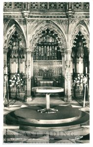 Beverley Minster interior, nave altar, Beverley c.1900s