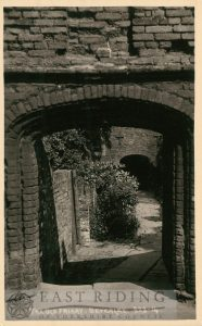 The Friary gateway, Beverley 1920s