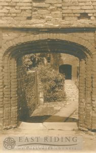 The Friary gateway, Beverley c.1900s