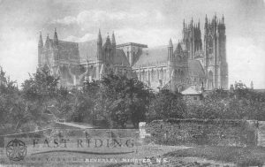 Beverley Minster from north east, Beverley 1900