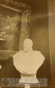Art Gallery, Champney Road, Beverley, marble bust of Edward VII by P Bryant Baker, 1910