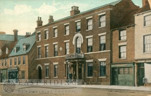 Beverley Arms Hotel, with part of North Bar Within 1900s