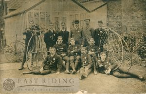 First Beverley Cycling Club, 1878