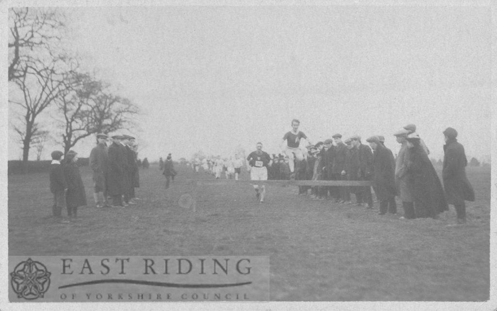 Harrier's race, Westwood, Beverley 1900