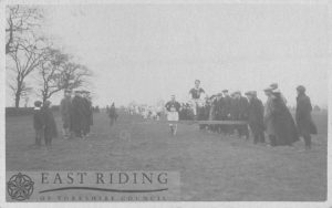 Harrier's race, Westwood, Beverley 1900