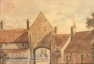 Keldgate Bar from west, Beverley 1808