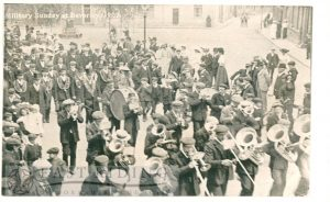 Military Sunday procession, Wednesday Market, Beverley 1907