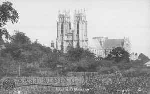 Beverley Minster from south west, Beverley 1900s