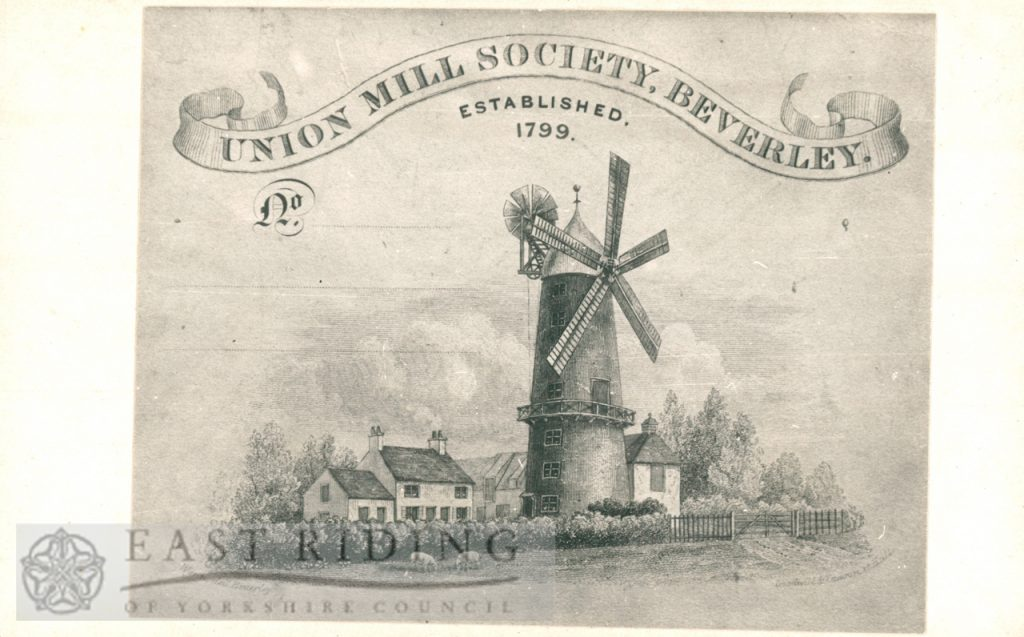 Westwood, Union Mill, Beverley 1848