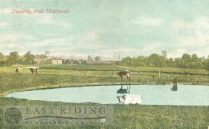 Westwood, from north west, with Hurn and pond in foreground, Beverley 1910