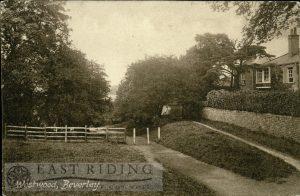 Westwood, near Westwood House, Beverley 1917